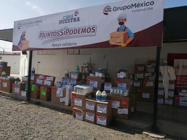 SOUTHERN REFUERZA EL SISTEMA DE BIO SEGURIDAD EN EL HOSPITAL Y CLAS