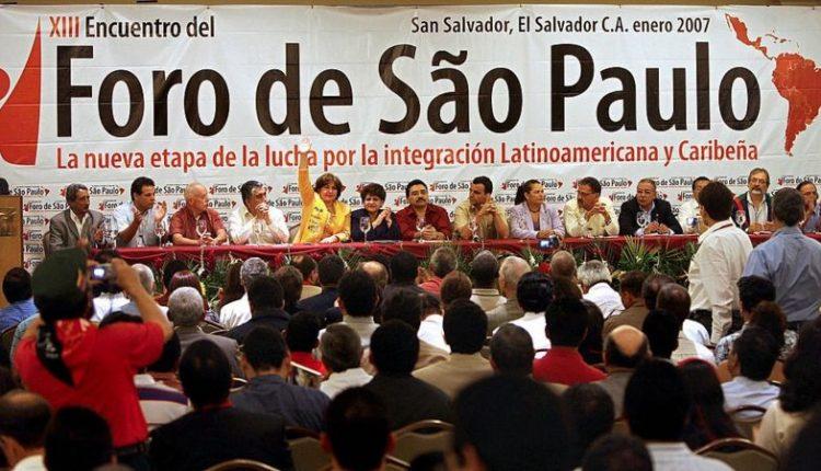 FORO DE SAO PAULO DENUNCIA CAMPAÑA DE SABOTAJE Y DESPRESTIGIO