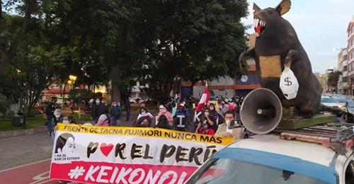 MARCHA DEL KOLLASUYO RESPALDA A PEDRO CASTILLO