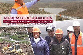 CULMINAN CON ÉXITO REPRESA DE CULARJAHUIRA EN CAMILACA